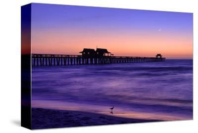 Pier on the Beach of Naples on the Gulf Coast, Florida, USA