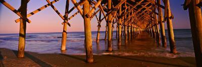 Pier over the Ocean, Folly Beach Fishing Pier, Folly Beach, Folly Island, Charleston County--Photographic Print