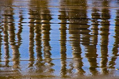 Pier Reflections II-Lee Peterson-Photo