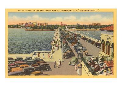 Pier, St. Petersburg, Florida--Art Print
