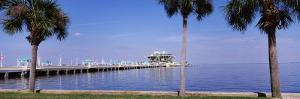 Pier Stretching Into the Ocean, St. Petersburg, Florida, USA