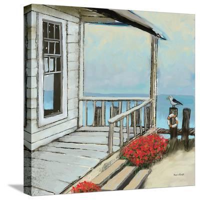 Pier Three-Kurt Novak-Stretched Canvas Print
