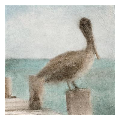 Pier Time-Kimberly Allen-Art Print