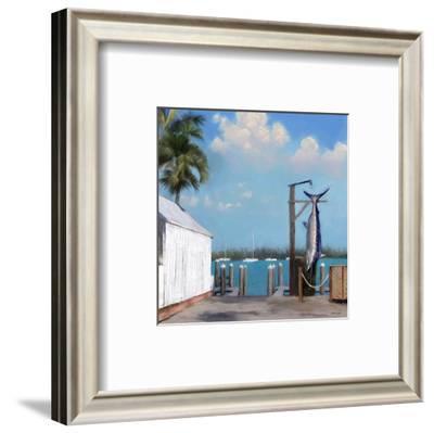 Pier Two-Rick Novak-Framed Art Print