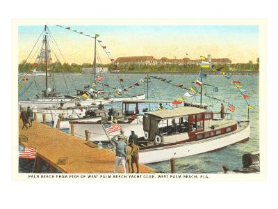 Pier, West Palm Beach, Florida--Art Print
