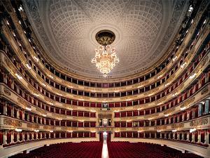 Views of the Teatro Alla Scala by Piermarini Giuseppe