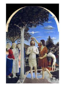 Baptism of Christ by Piero della Francesca
