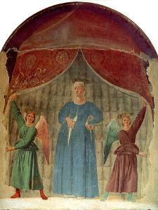 Madonna Del Parto, Ca 1460 by Piero della Francesca
