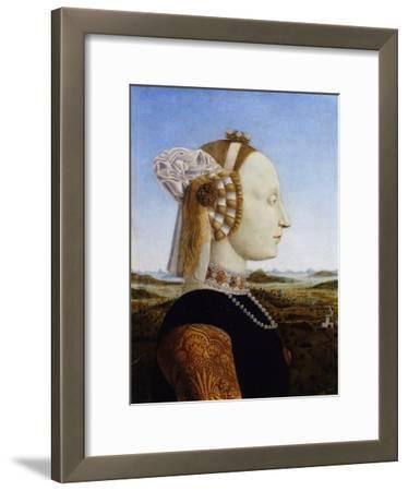Portrait of Battista Sforza, 1472