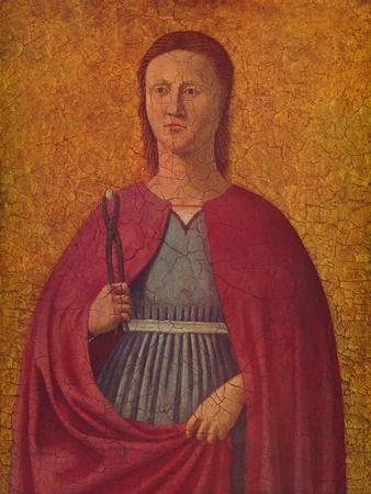 'Saint Apollonia', c1455-1460