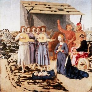 The Nativity, 1470-1475 by Piero della Francesca