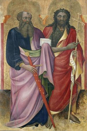 The Apostle Paul and John the Baptist, C.1418-20