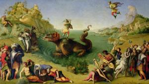 Perseus Rescuing Andromeda by Piero di Cosimo
