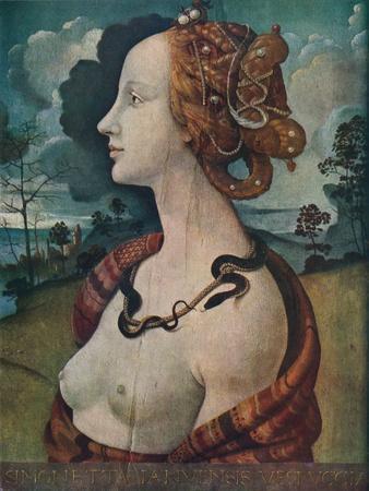 'Portrait of Simonetta Vespucci', c1480, (1939)