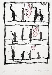En Plusieurs Fois by Pierre Alechinsky