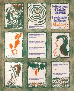Expo 019 - 9 décoctions d'Achille Chavée by Pierre Alechinsky