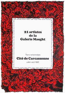 Expo 090 - Cité de Carcassonne by Pierre Alechinsky