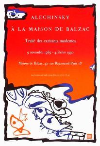 Expo 125 - Maison de Balzac by Pierre Alechinsky