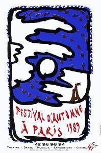 Expo Festival D'Automne by Pierre Alechinsky