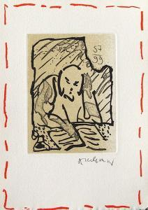 Travaux d'impression by Pierre Alechinsky
