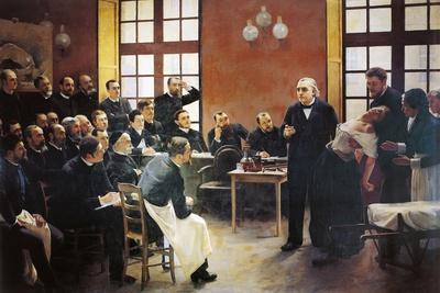 A Clinical Lesson with Doctor Charcot at the Salpetriere, 1887