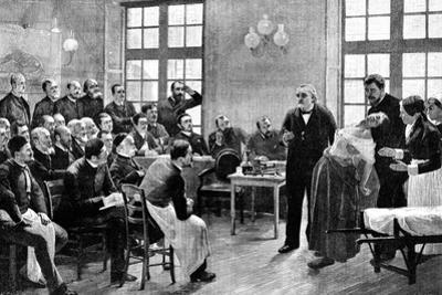 Jean Martin Charcot, French Neurologist and Pathologist, 1887