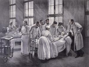 The Croup Cured by Doctor Roux by Pierre Andre Brouillet
