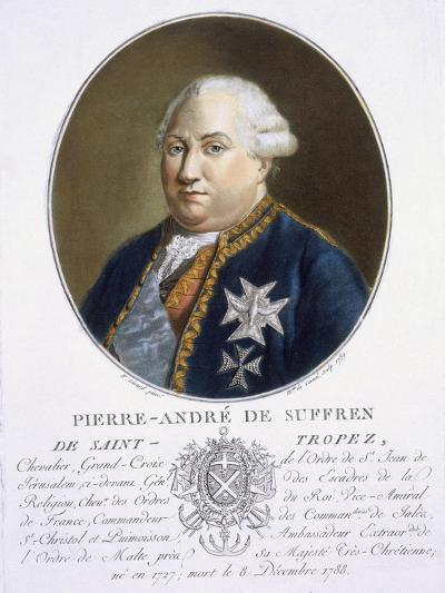 Pierre-Andre De Suffren De St Tropez-Antoine Louis Francois Sergent-marceau-Giclee Print