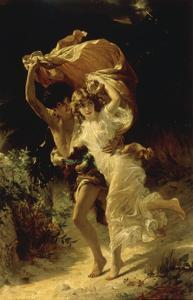 The Storm by Pierre-Auguste Cot