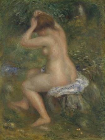 A Bather, Ca. 1886-1890