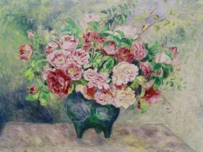 A Bouquet of Flowers by Pierre-Auguste Renoir