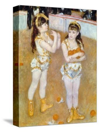Acrobats at the Cirque Fernando, 1879