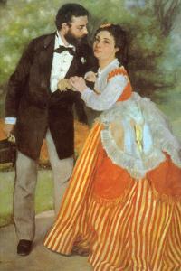 Alfred Sisley by Pierre-Auguste Renoir