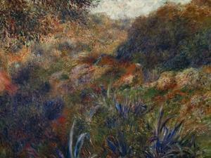 Algerian Landscape, the Gorge of the Femme Sauvage, 1881 by Pierre-Auguste Renoir