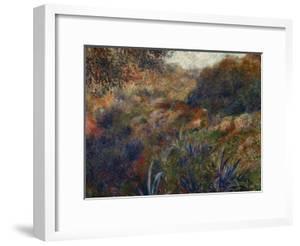 Algerian Landscape, the Gorge of the Femme Sauvage, 1881 by Pierre-Auguste Renoir