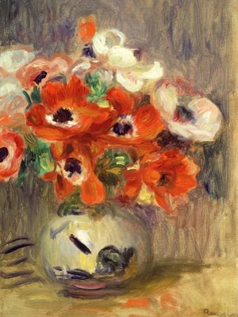 Anemones by Pierre-Auguste Renoir