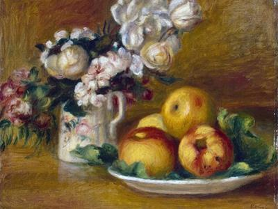 Apples and Flowers, C1895