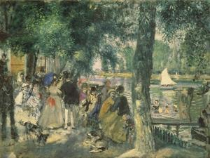 At the Seine River by Pierre-Auguste Renoir