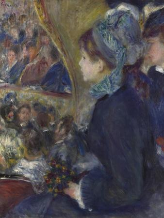 At the Theatre (La Première Sorti), 1876-1877 by Pierre-Auguste Renoir