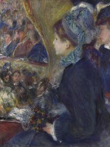 At the Theatre (La Première Sorti), 1876-1877 by Pierre-Auguste Renoir