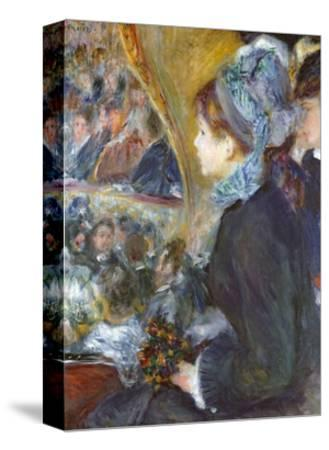 At the Theatre (La Premiere Sortie), 1876-7