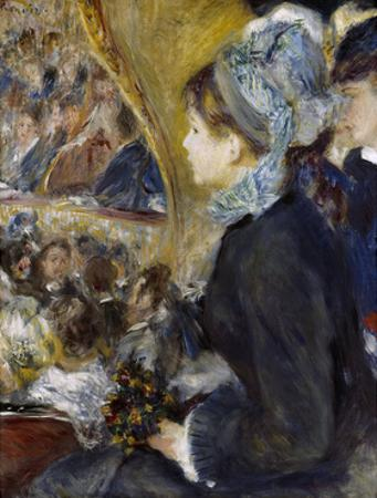 At the Theatre (The First Outing), 1876 by Pierre-Auguste Renoir