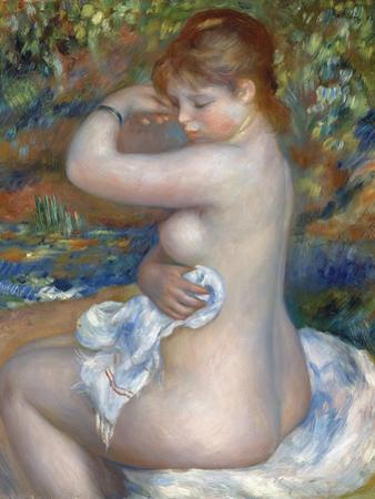 Baigneuse, 1888 by Pierre-Auguste Renoir