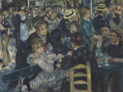 Bal du Moulin de la Galette, Montmartre by Pierre-Auguste Renoir