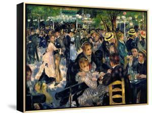 Ball at the Moulin De La Galette, 1876 by Pierre-Auguste Renoir