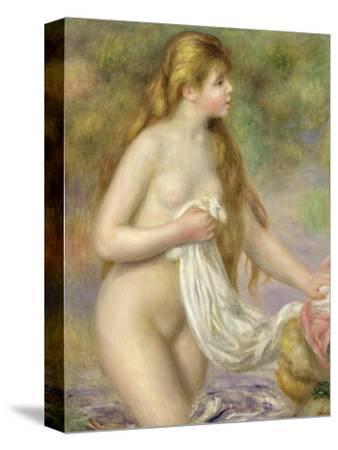Bather with Long Hair, circa 1895