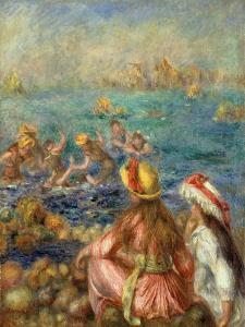 Bathers, 1892 by Pierre-Auguste Renoir