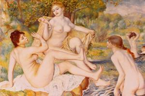 Bathers by Pierre-Auguste Renoir