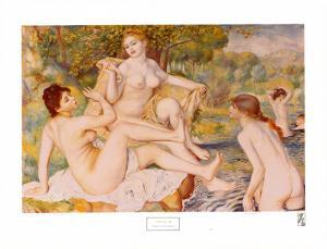 Bathers by Pierre-Auguste Renoir