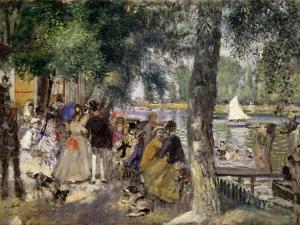 Bathing on the Seine (La Grenouillér), 1869 by Pierre-Auguste Renoir
